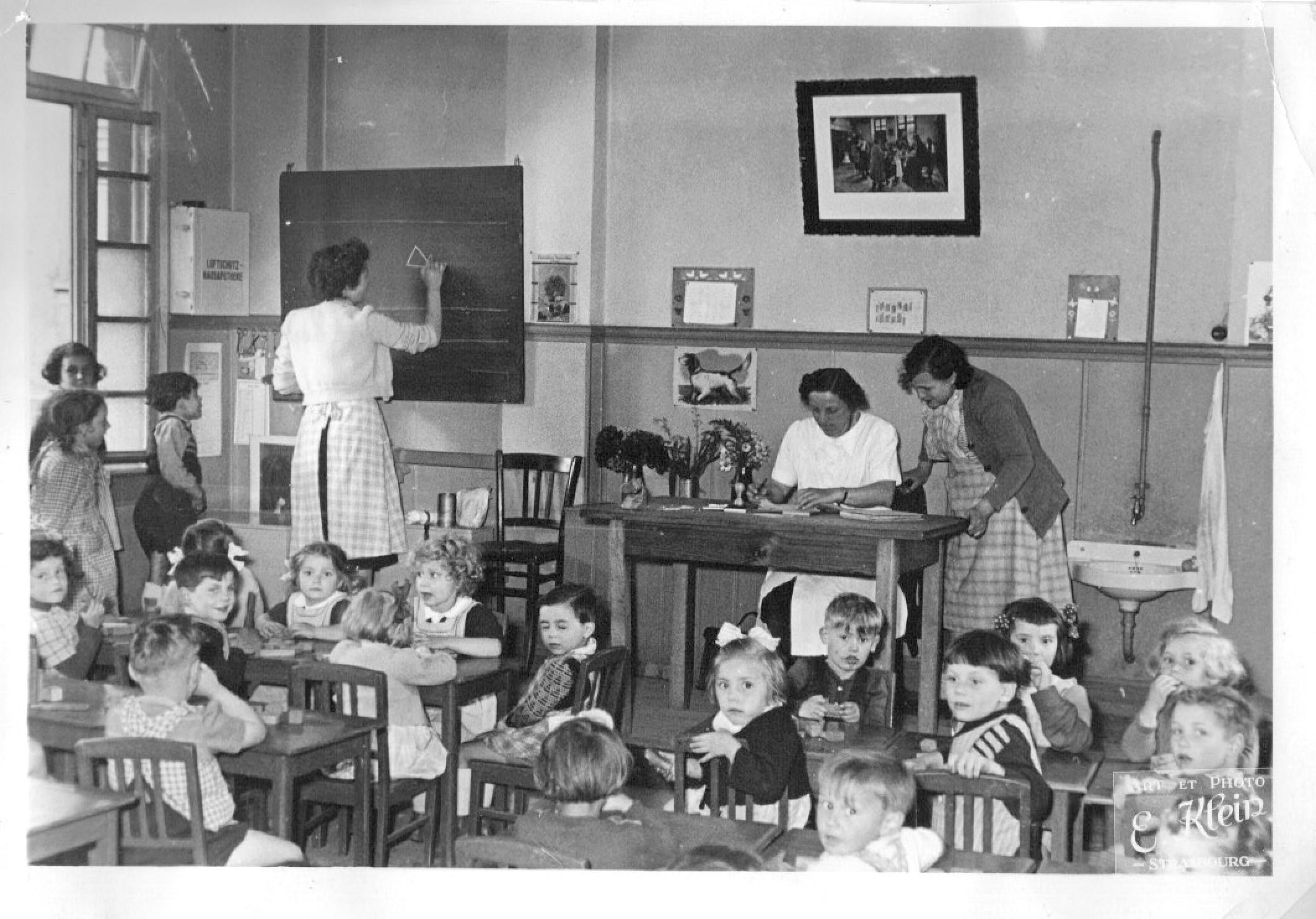 Historique du jardin d 39 enfants cr che garderie cole priv e for Jardin 19eme siecle