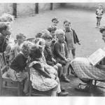 Le Jardin d'Enfants à ses débuts